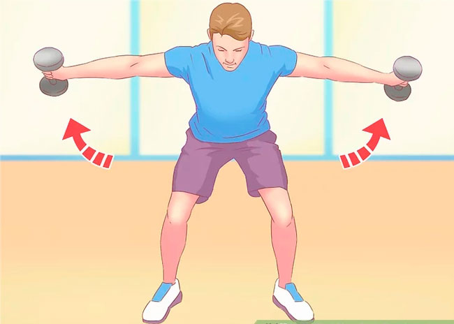 Swing Dumbbell Swing